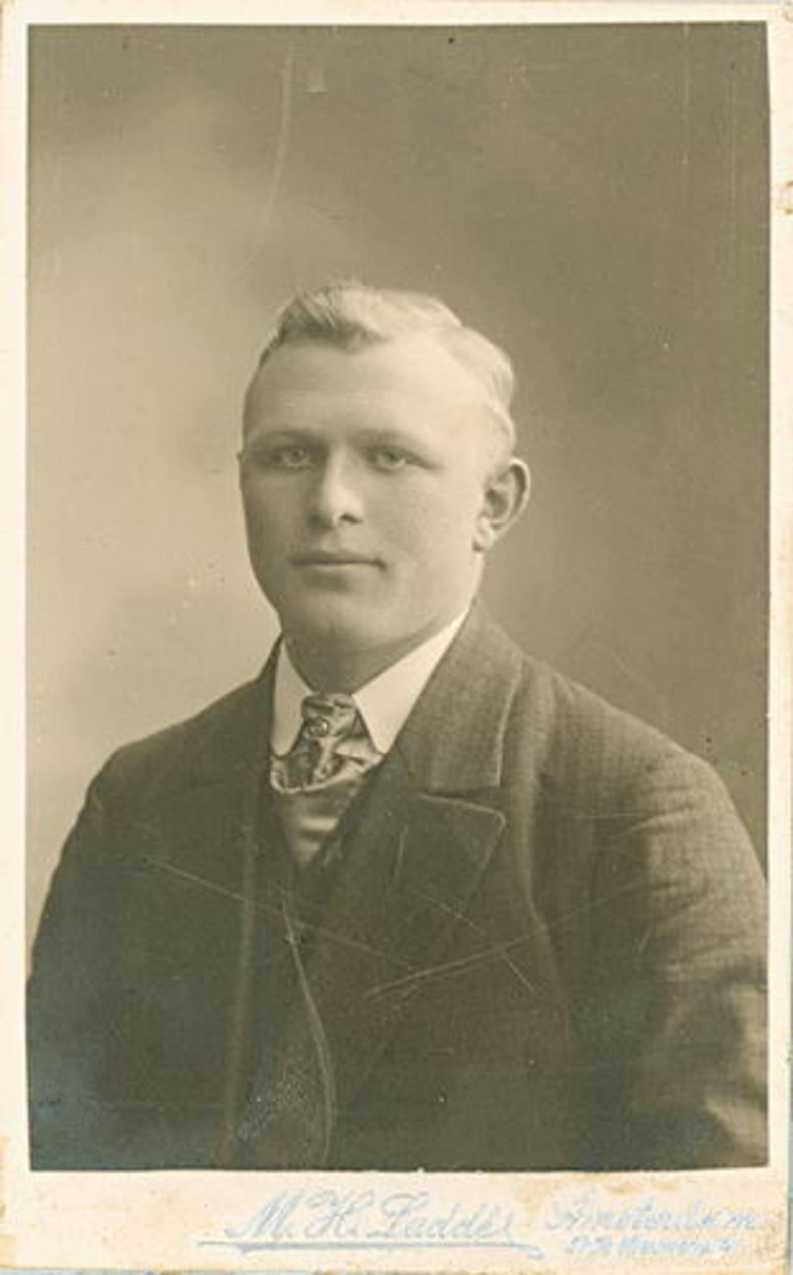 Eversen Barend Teunzn 1894 19__ Portret
