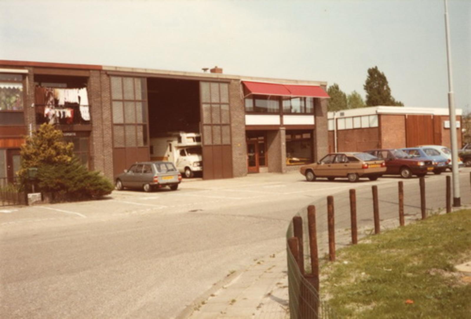 Graftermeerstraat N 0029-33 1983 Loods fa Vermeer Holland 02