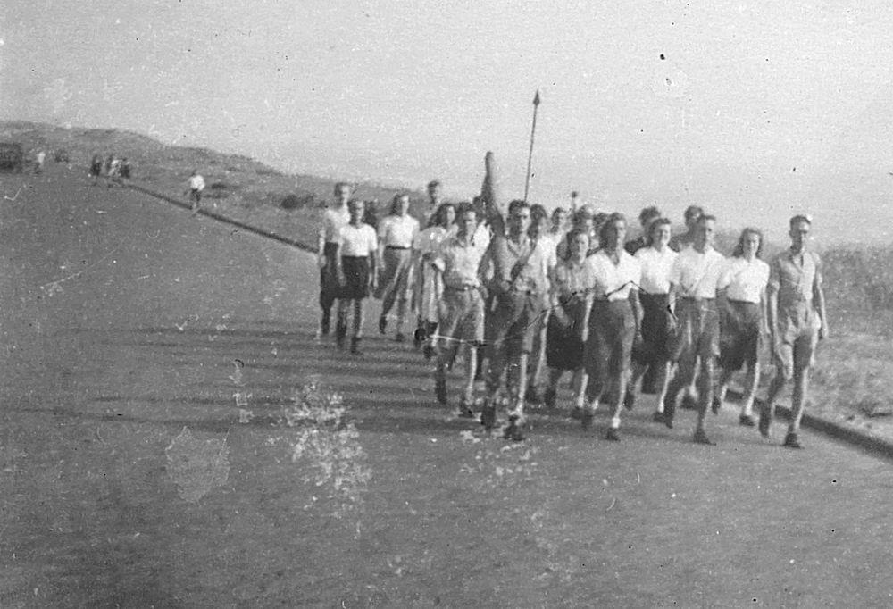 Gym en Athletiek Ver Hoofddorp 1947 tijdens Vierdaagse 03