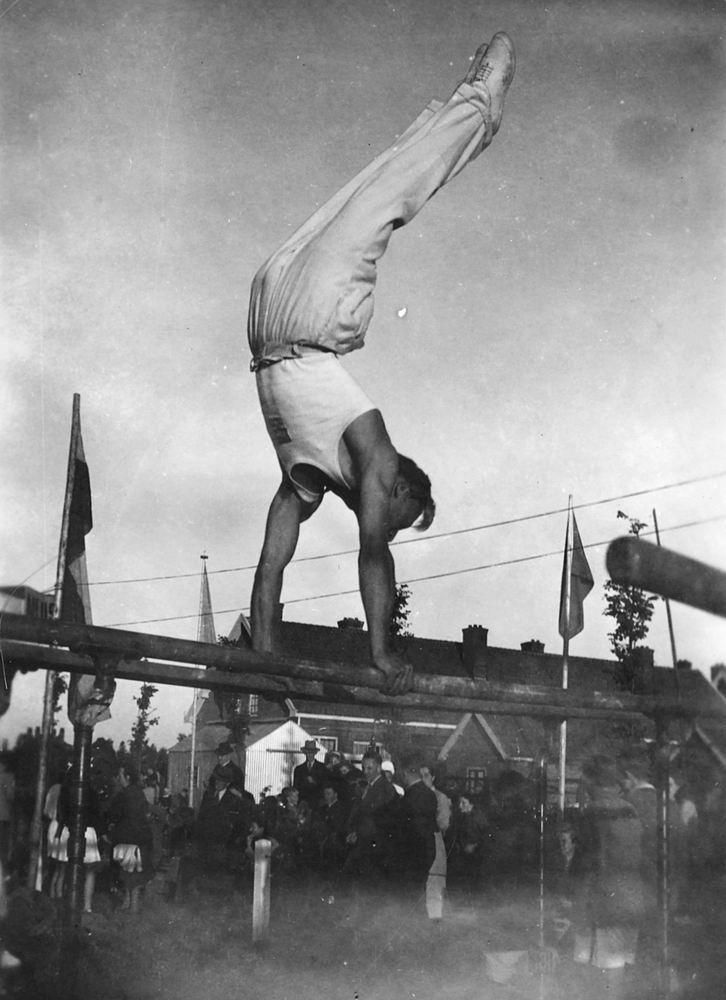 Gym en Athletiek Ver Hoofddorp 1949 Jan Kempe in Halfweg