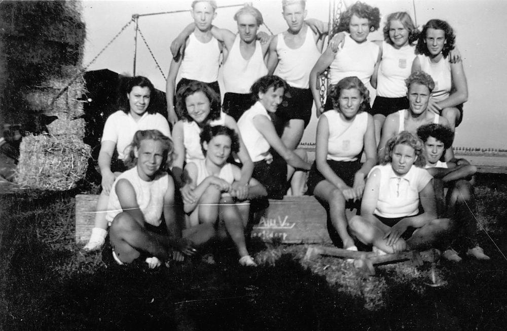 <b>ZOEKPLAATJE:</b>Gym en Athletiek Ver Hoofddorp 1949 Trainen bij Adolfshoeve 02