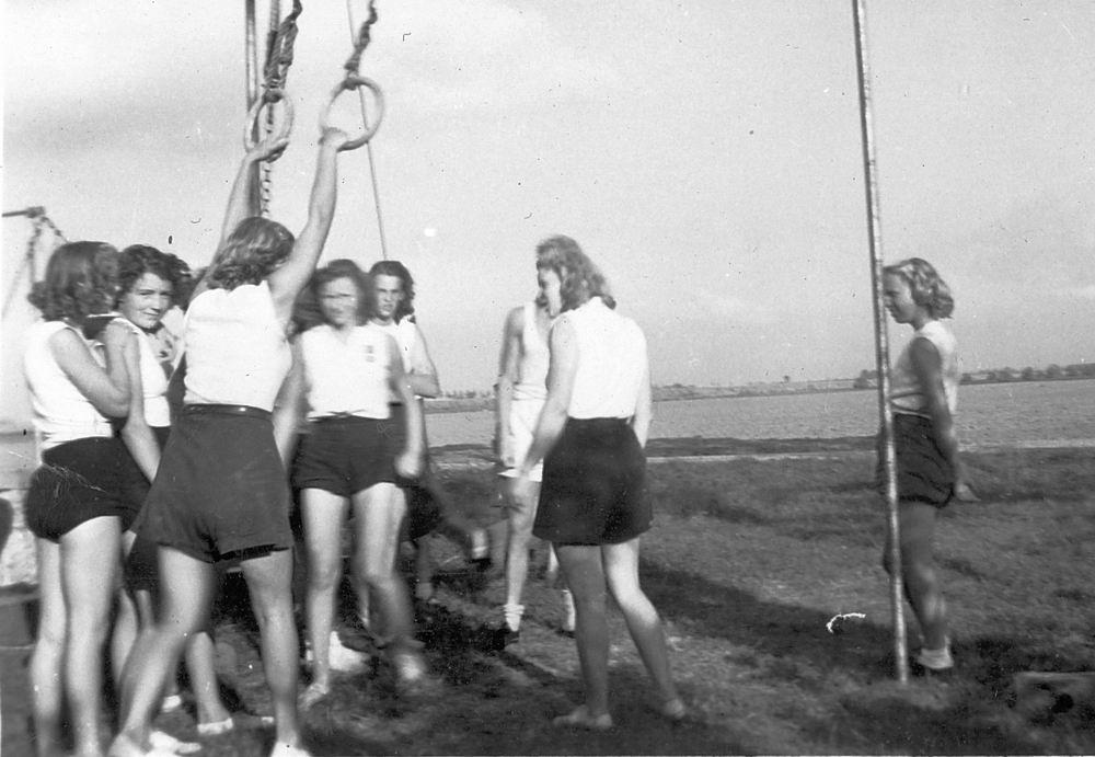 Gym en Athletiek Ver Hoofddorp 1949 Trainen bij Adolfshoeve 05