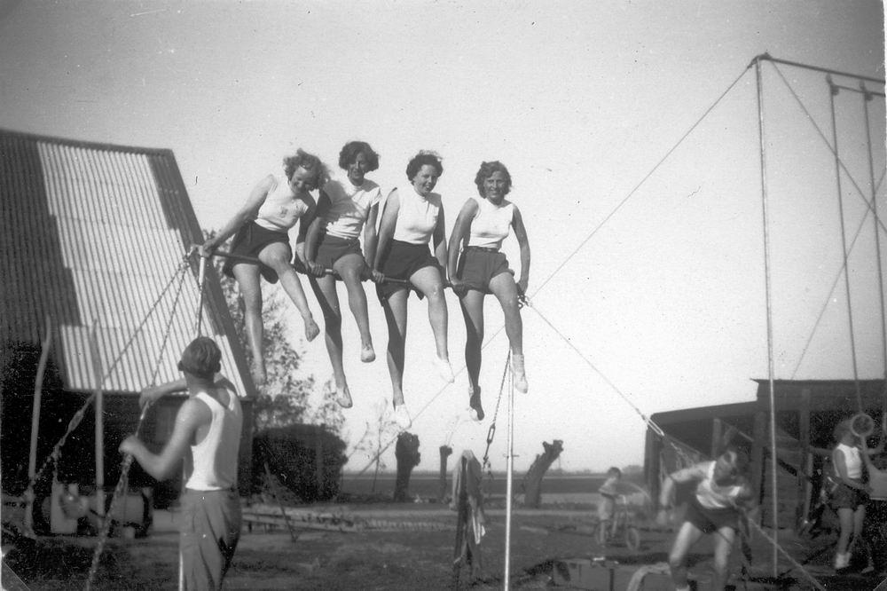 Gym en Athletiek Ver Hoofddorp 1950 Trainen bij Adolfshoeve 01
