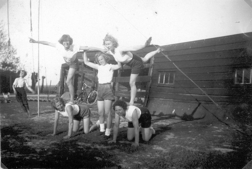 Gym en Athletiek Ver Hoofddorp 1950 Trainen bij Adolfshoeve 03
