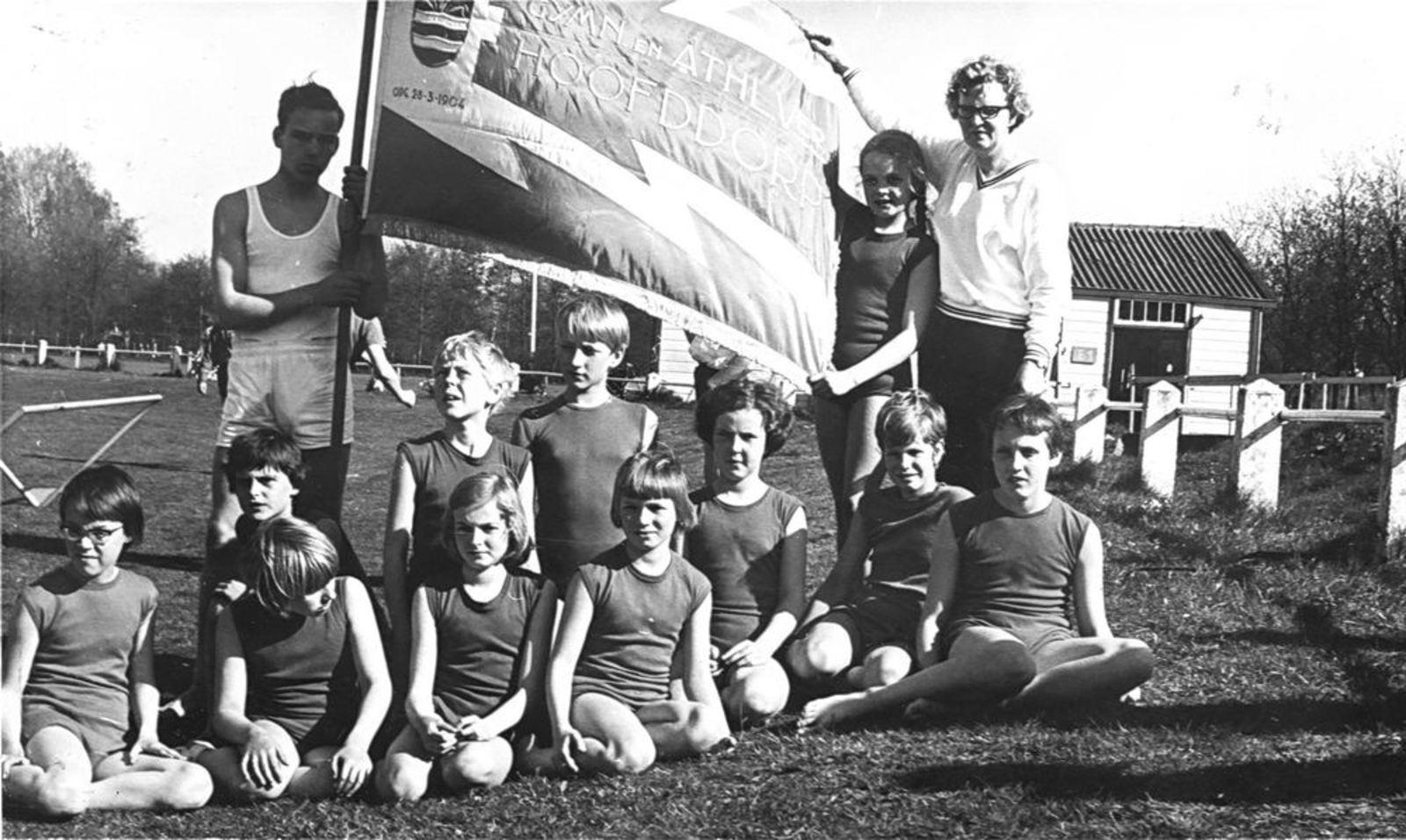 Gymvereniging Hoofddorp 1967± Springgroep Adspiranten