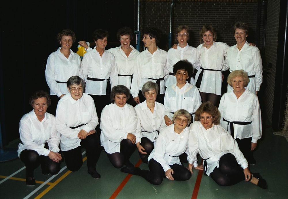 Gym en Athletiek Ver Hoofddorp 1989 85jr Jubileum a25