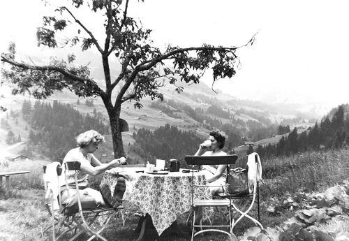 Helm Femmie vd 1959 Vakantie Zwitserland 05