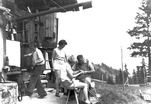 Helm Femmie vd 1959 Vakantie Zwitserland 06