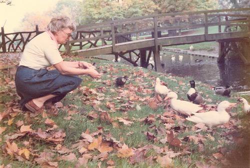 Helm Femmie vd 1976 in het Wandelbos