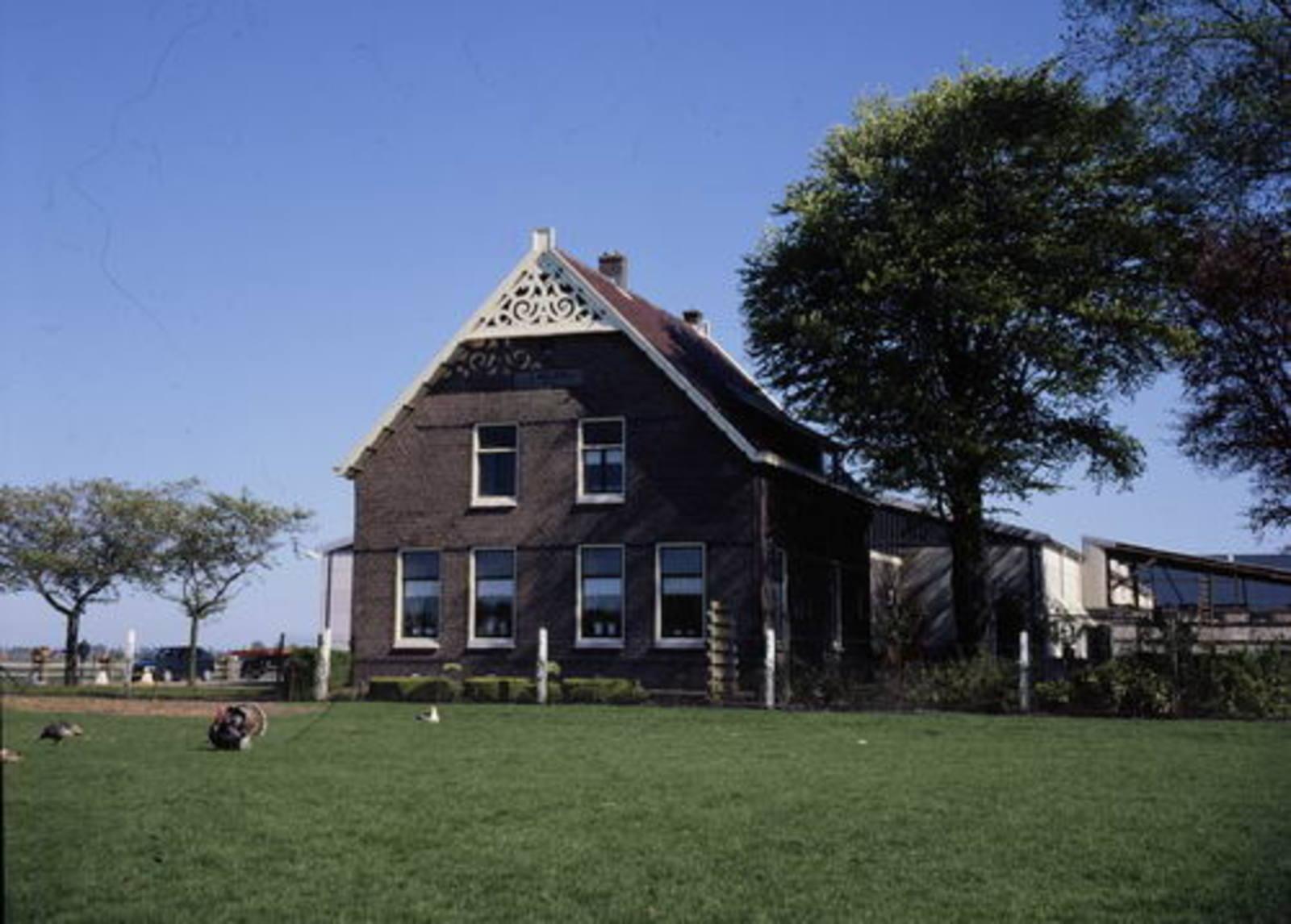 Hillegommerdijk 0395 1999 boerderij Parlevliet