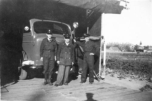 Hmeer 1955 Eeuwfeest Stand vd Brandweer