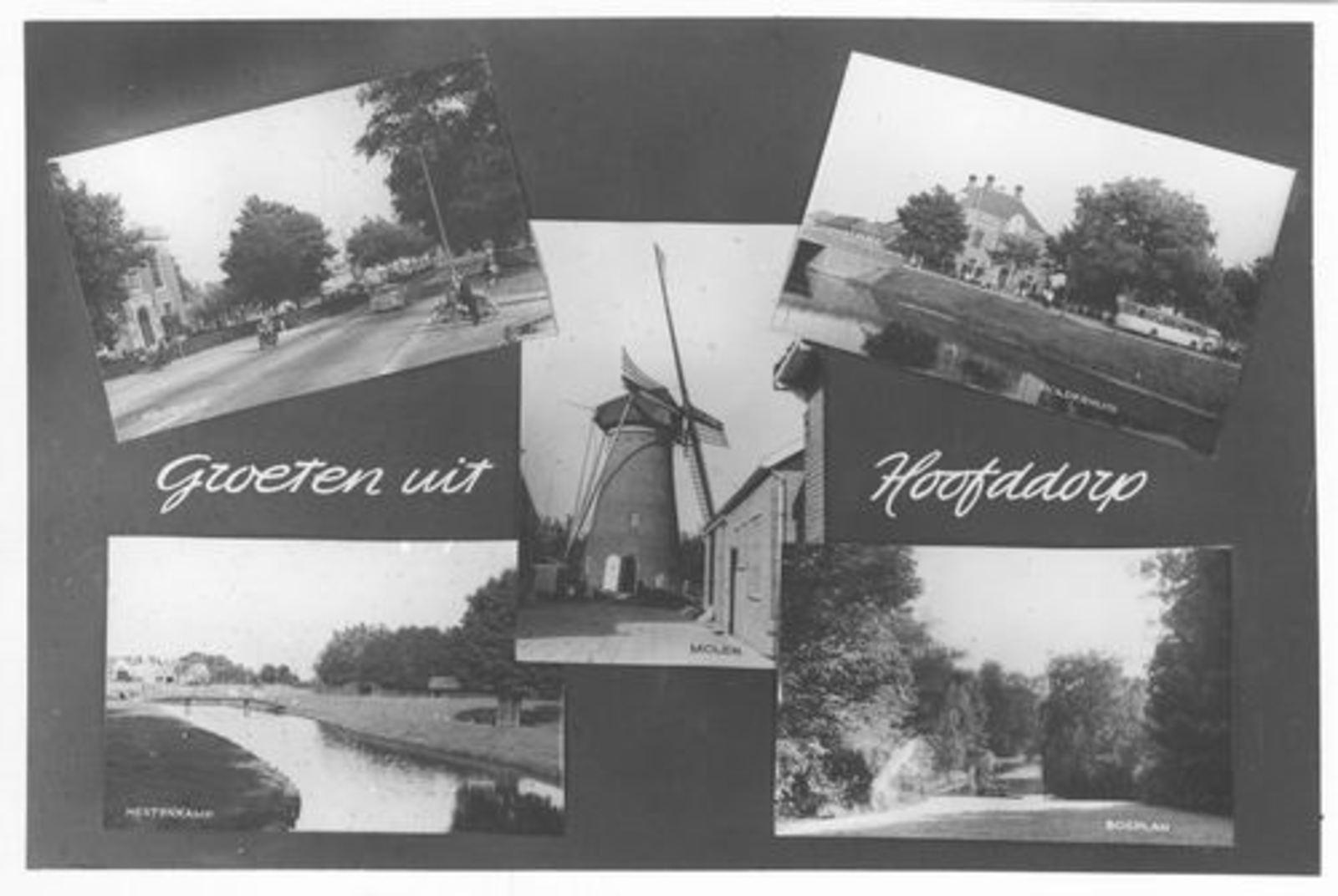 Hoofddorp 5 luik 1960±