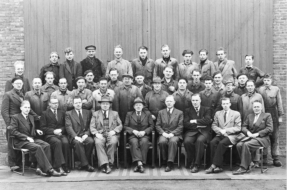 Hoofdweg O 0756 1966-72 Personeel Fabriek Spaans