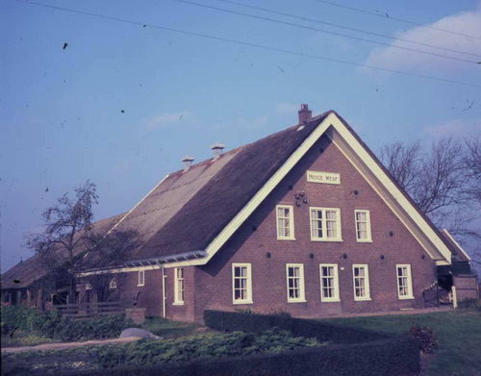 Hoofdweg W 0361 19__ boerderij Hooge Werf 01
