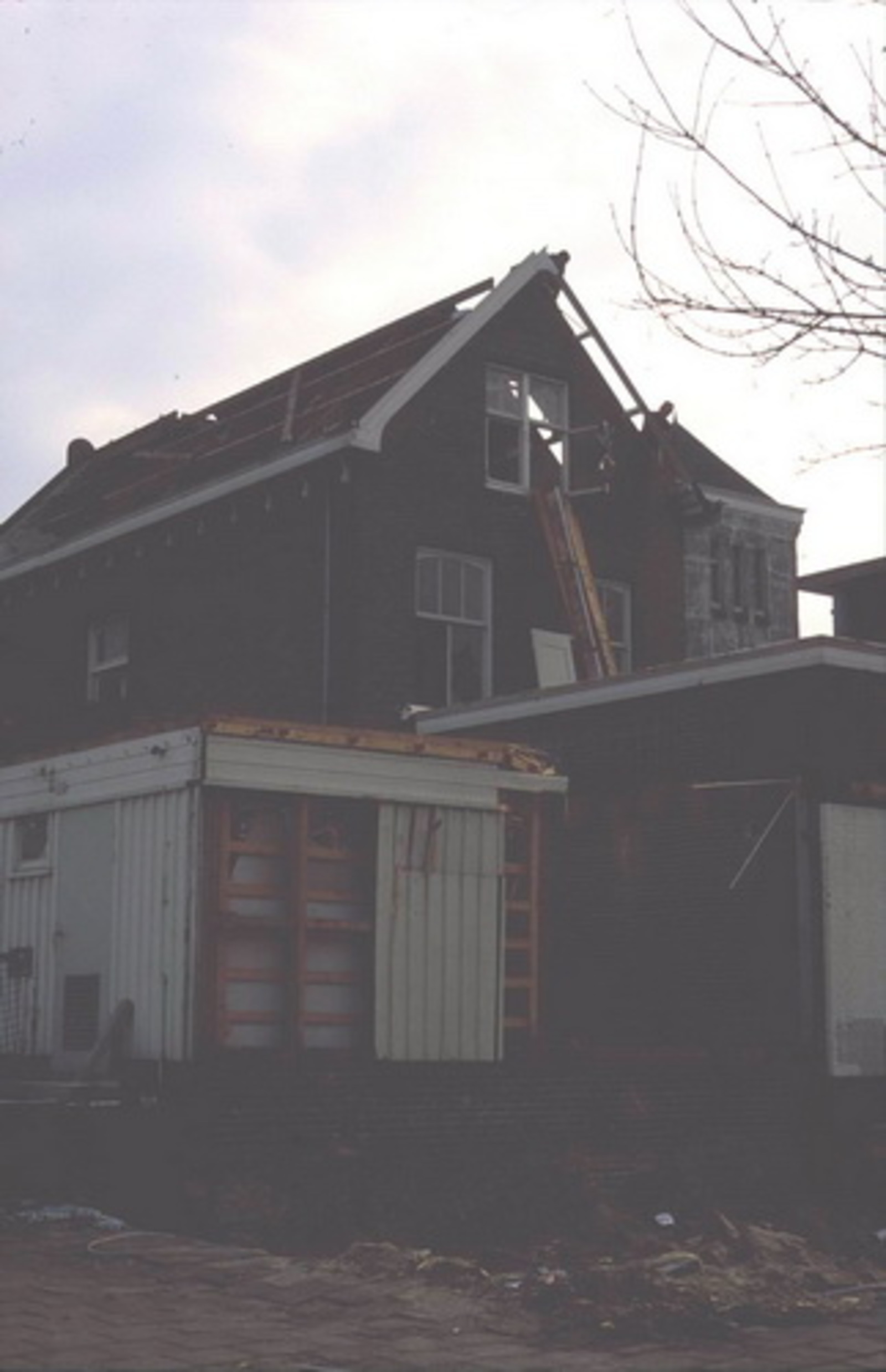 Hoofdweg W 0663a 197_ Sloop Postkantoor 03