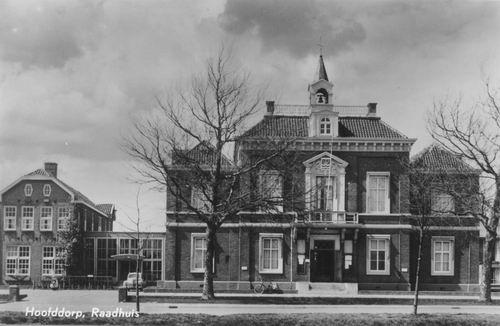 Hoofdweg W 0671 1956 Raadhuis