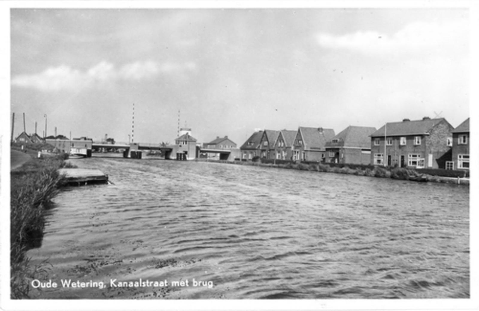 Huigsloterdijk 0050± 1950 Oude Weteringbrug overzijde_2