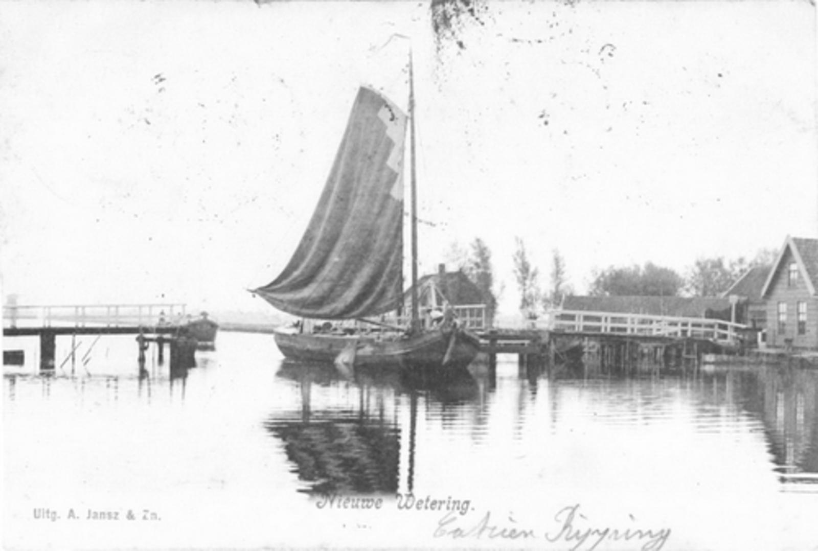 Huigsloterdijk 0160± 1904 Nieuwe Weteringbrug