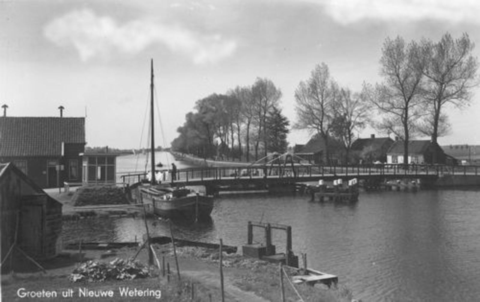 Huigsloterdijk 0160± 1942 Nieuwe Weteringbrug