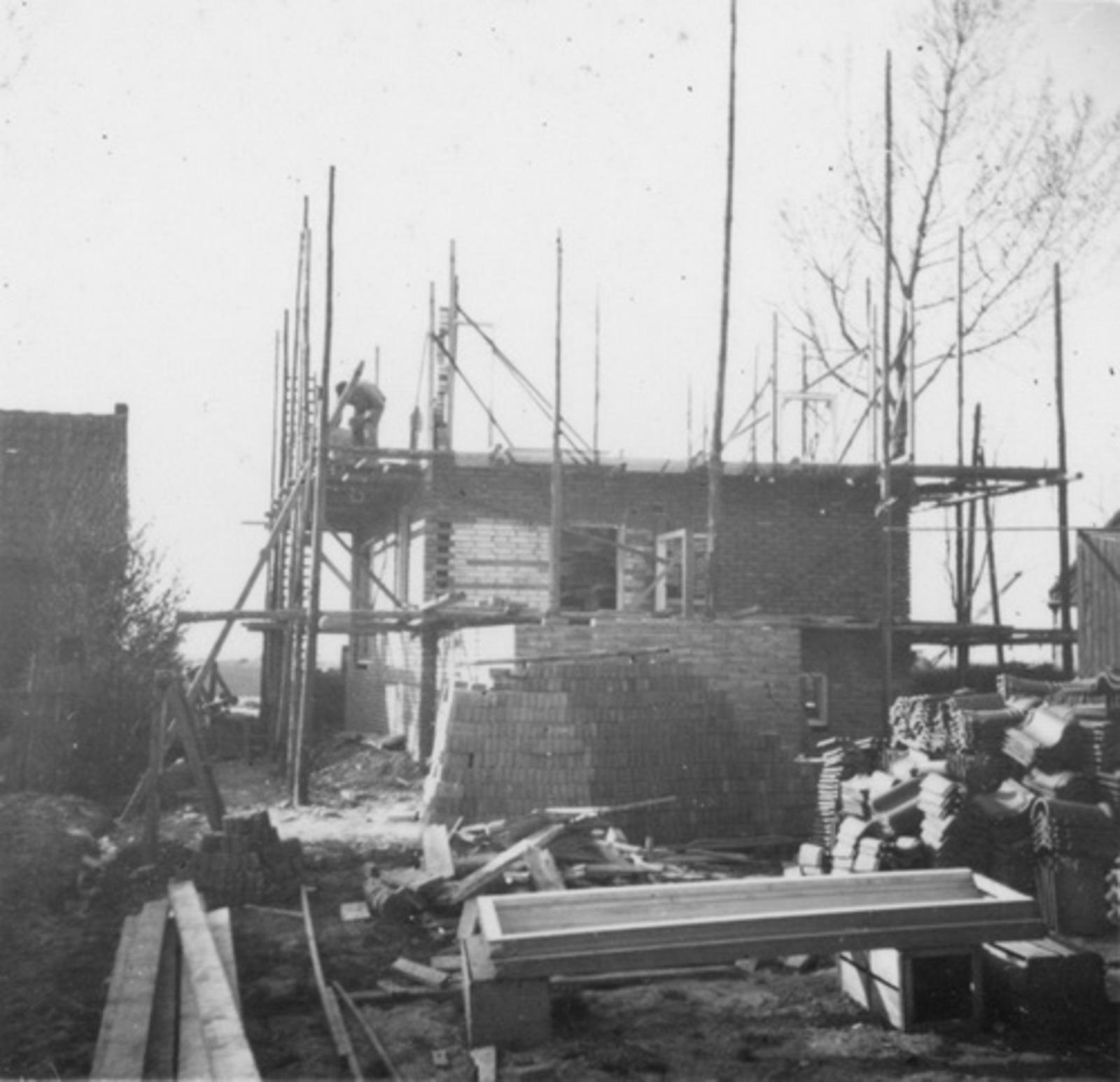 IJweg O 0962 1953 bouw Huize Jan Stolwijk 01