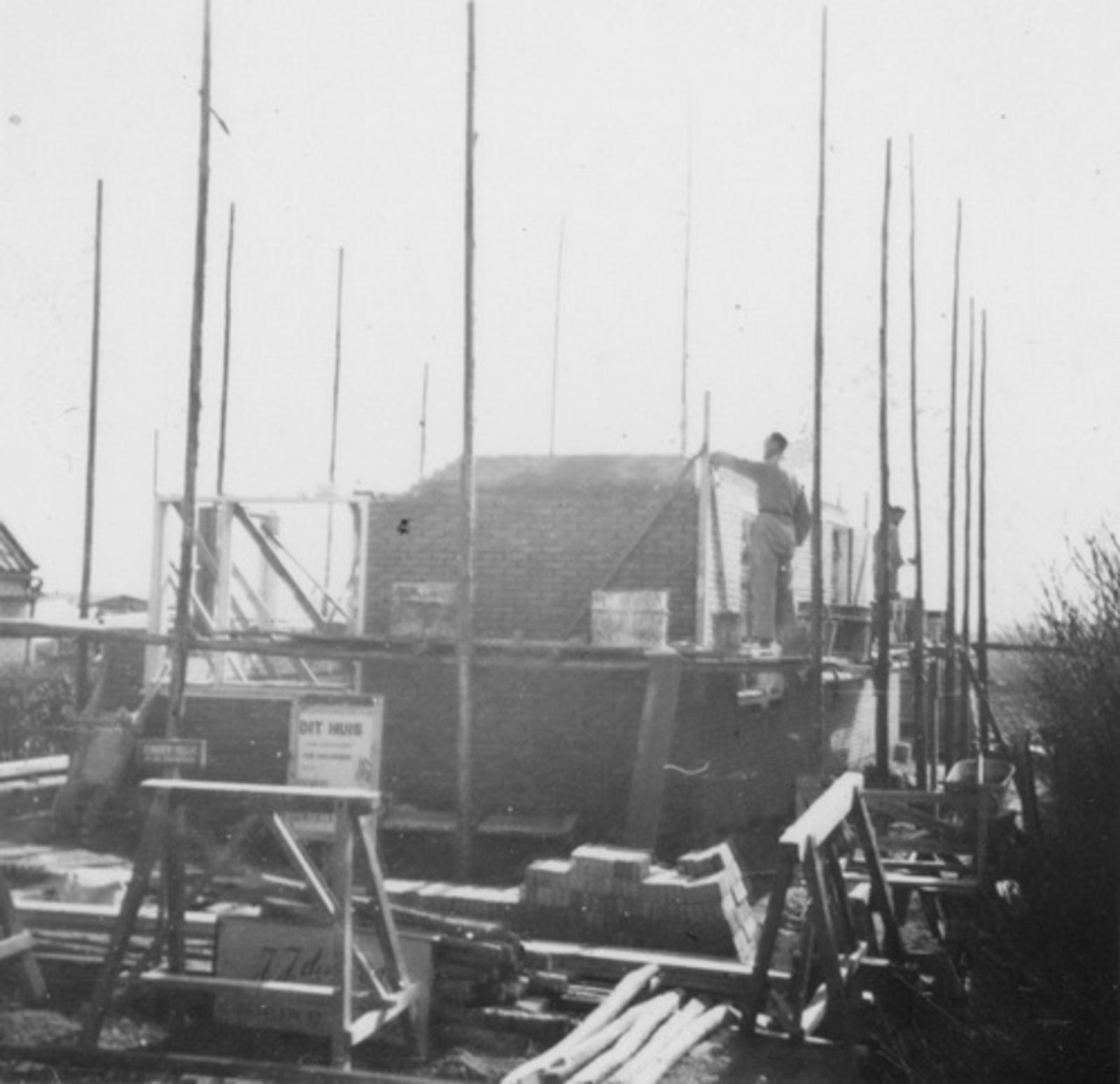 IJweg O 0962 1953 bouw Huize Jan Stolwijk 02