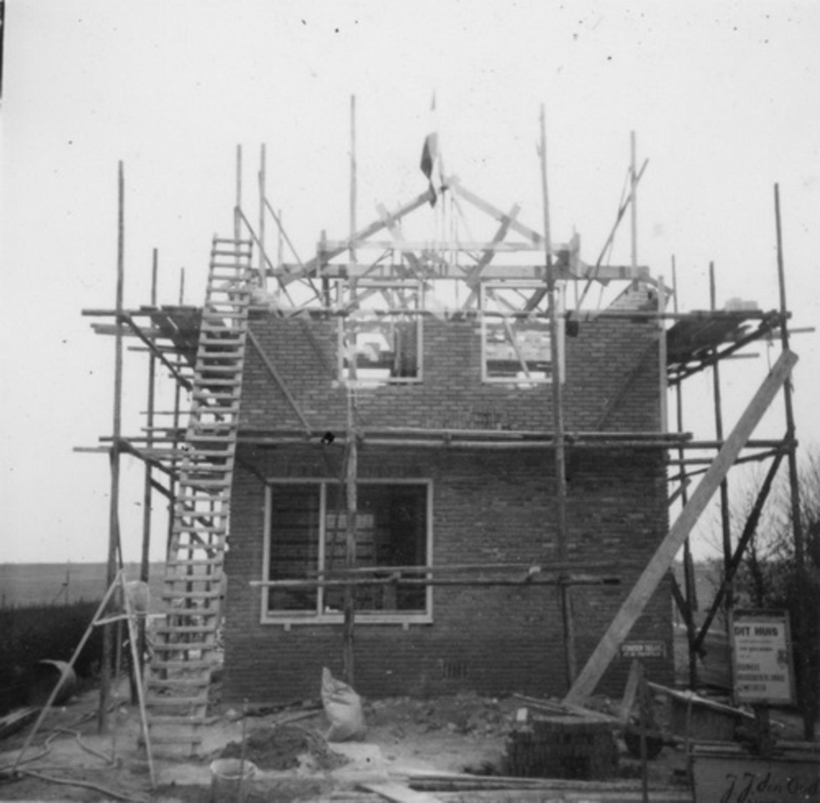IJweg O 0962 1953 bouw Huize Jan Stolwijk 06