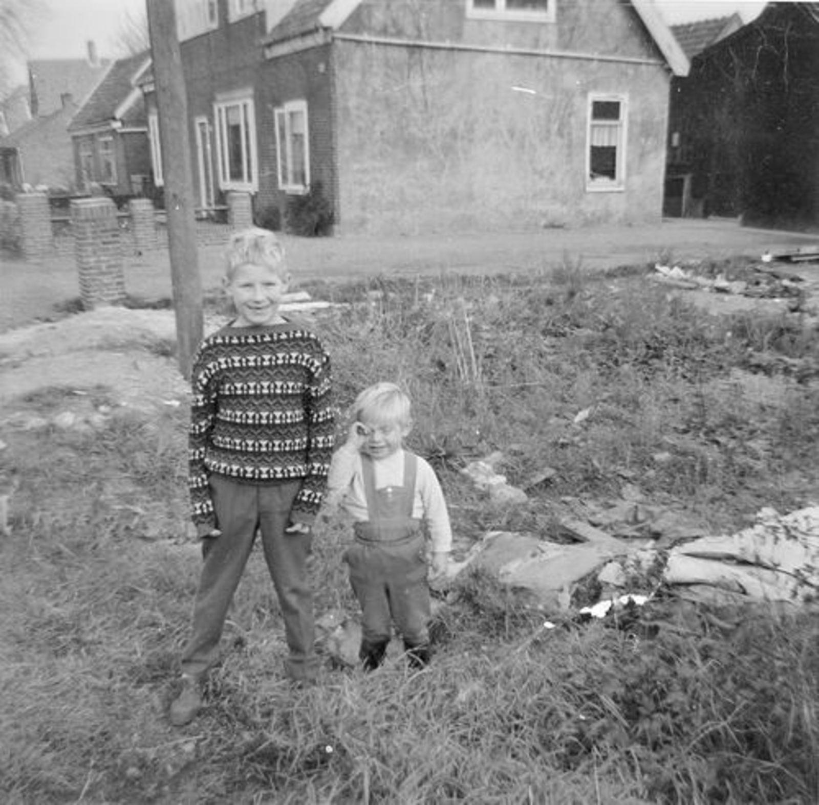 IJweg O 1004- 1961 met Ko en Eddy Imanse