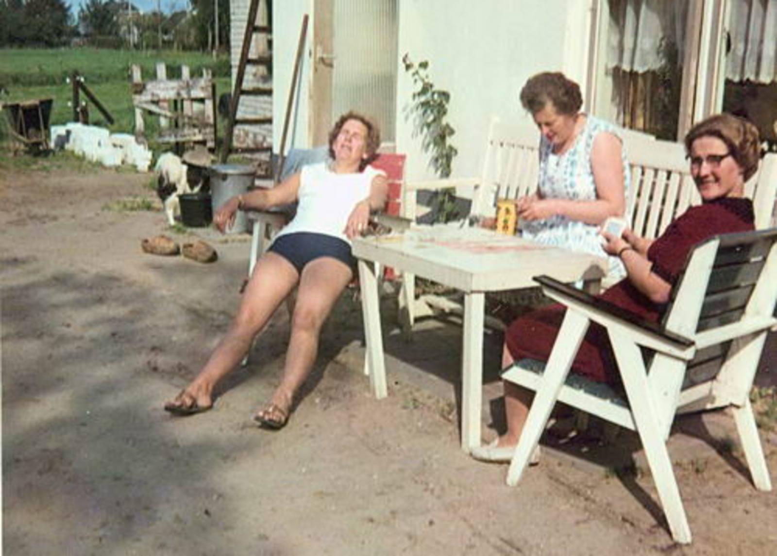 Imanse - Bliek Leentje 1920 1966 met Kaartclub de Jokervrouwen in Putten 01