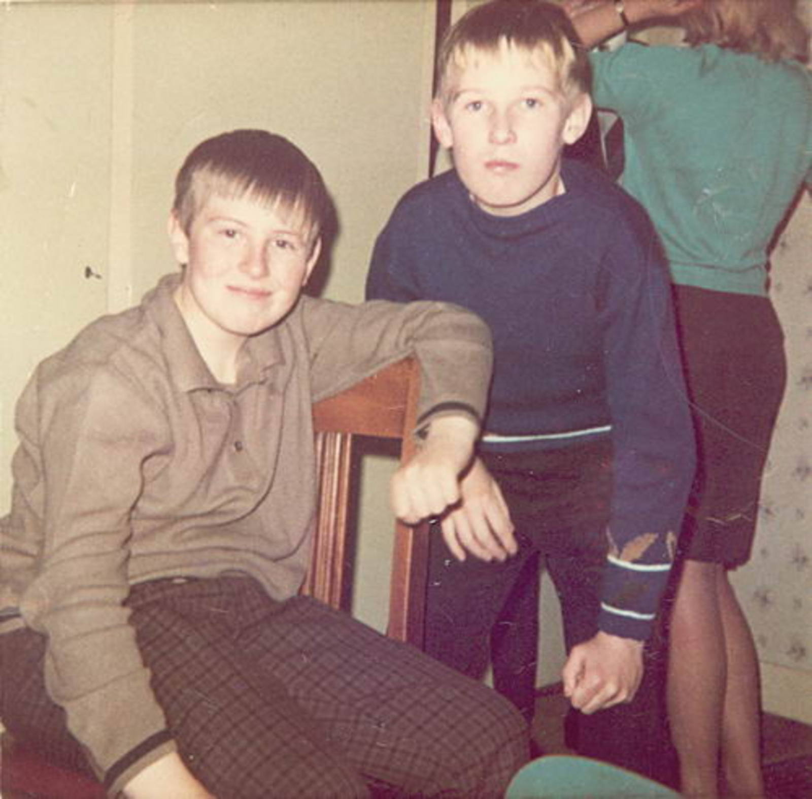 Imanse Iman 1954 196_ met broertje Ko