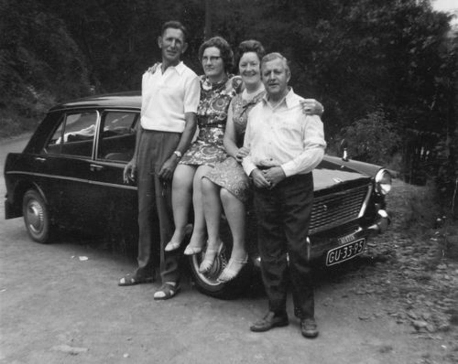 Imanse Iman C 1920 1969 Uitje met Riet en Roen Nelissen-Imanse