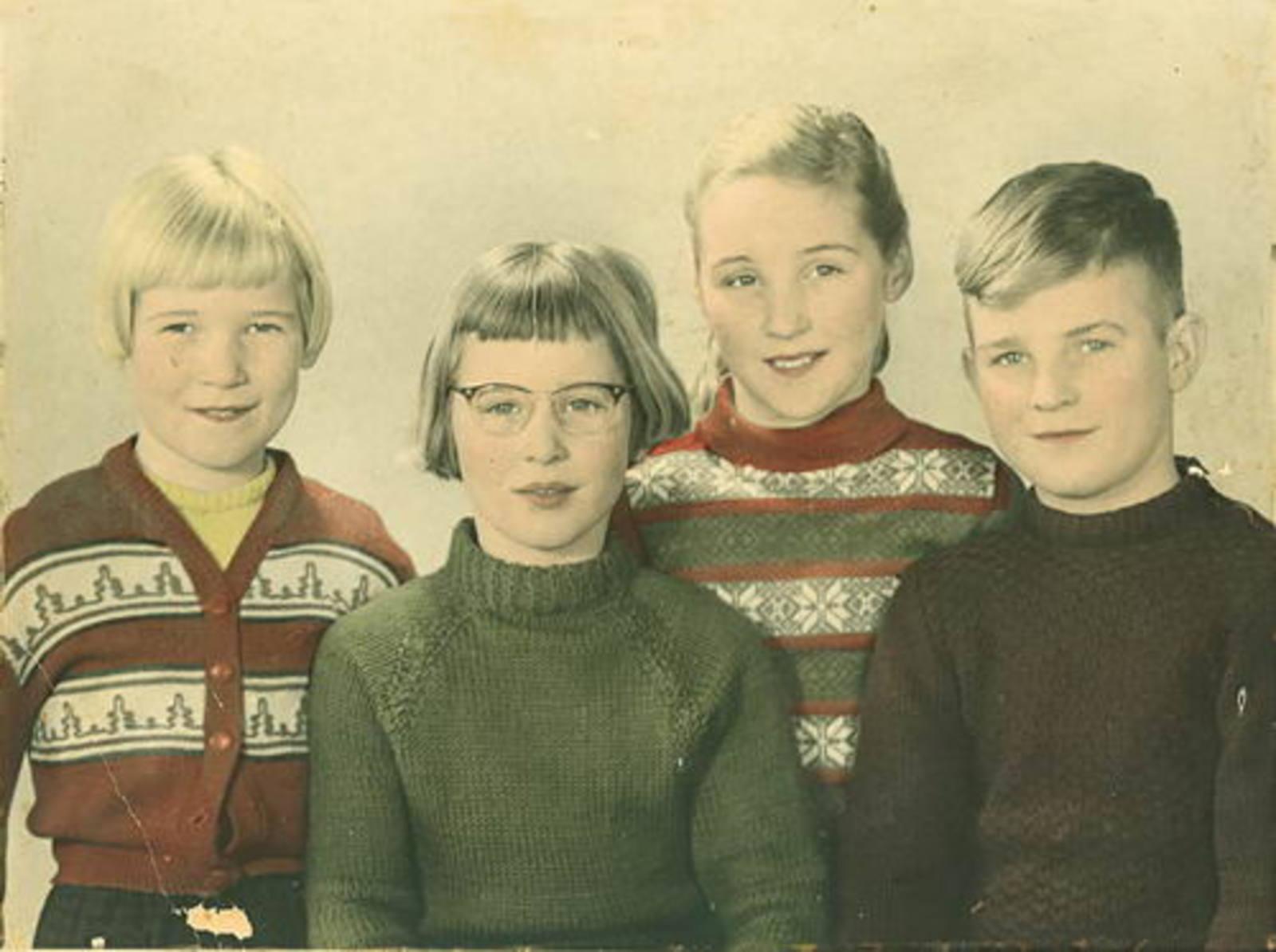 Imanse Iman C 1920 19__ portret Kinderen