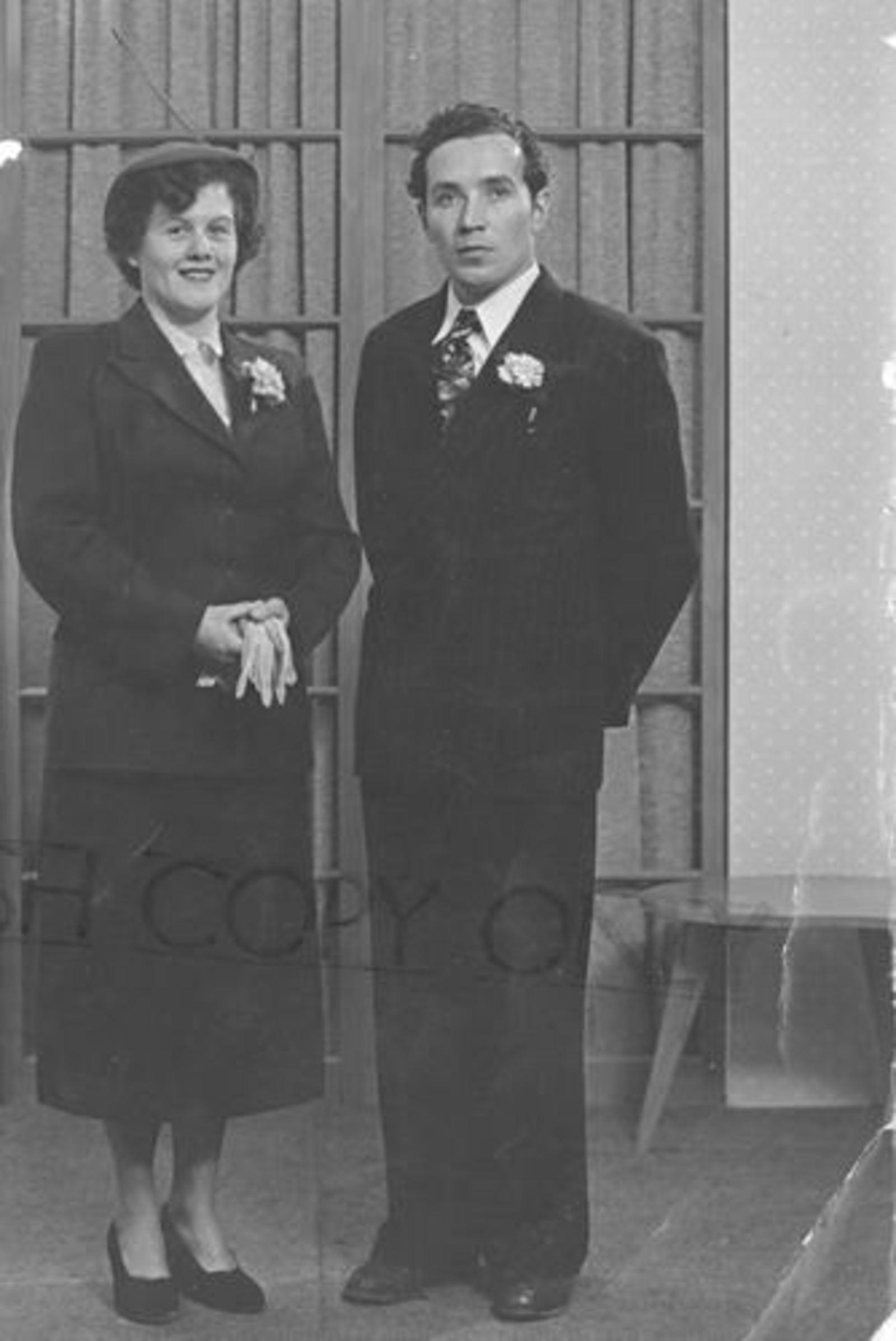 Imanse Theo 1925 19__ trouwt Corrie Huisman