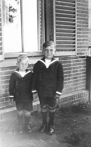 Jong - Schaap Aaltje de 19__ Kinderen Ger en Cor