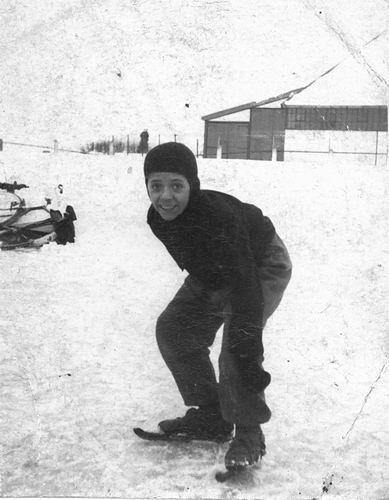 Jong Leen de 1934 1946-47 op IJsbaan Concoursterrein