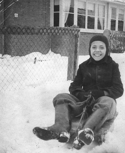 Jong Leen de 1934 1946-47 op Slee bij Fortweg 16