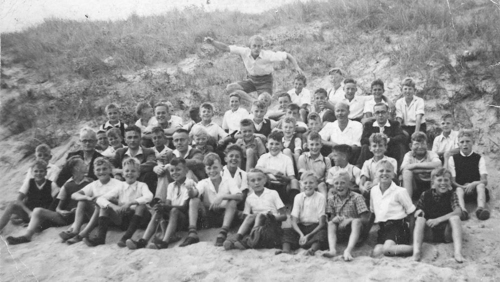 Christelijke School Hoofddorp 1947 Schoolreisje naar Zandvoort