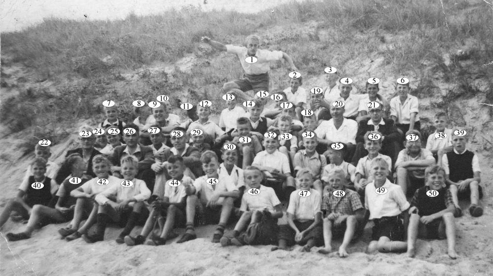 Christelijke School Hoofddorp 1947 Schoolreisje naar Zandvoort_Index
