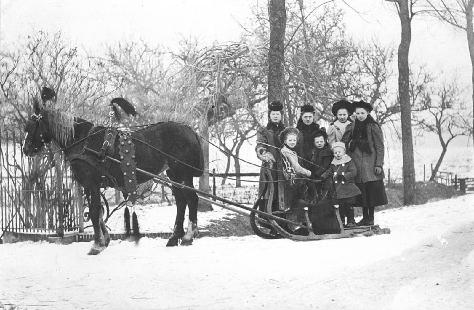Knaap Gerrit A A 1863 1908± Kinderen met Arreslee Aalsmeerderweg