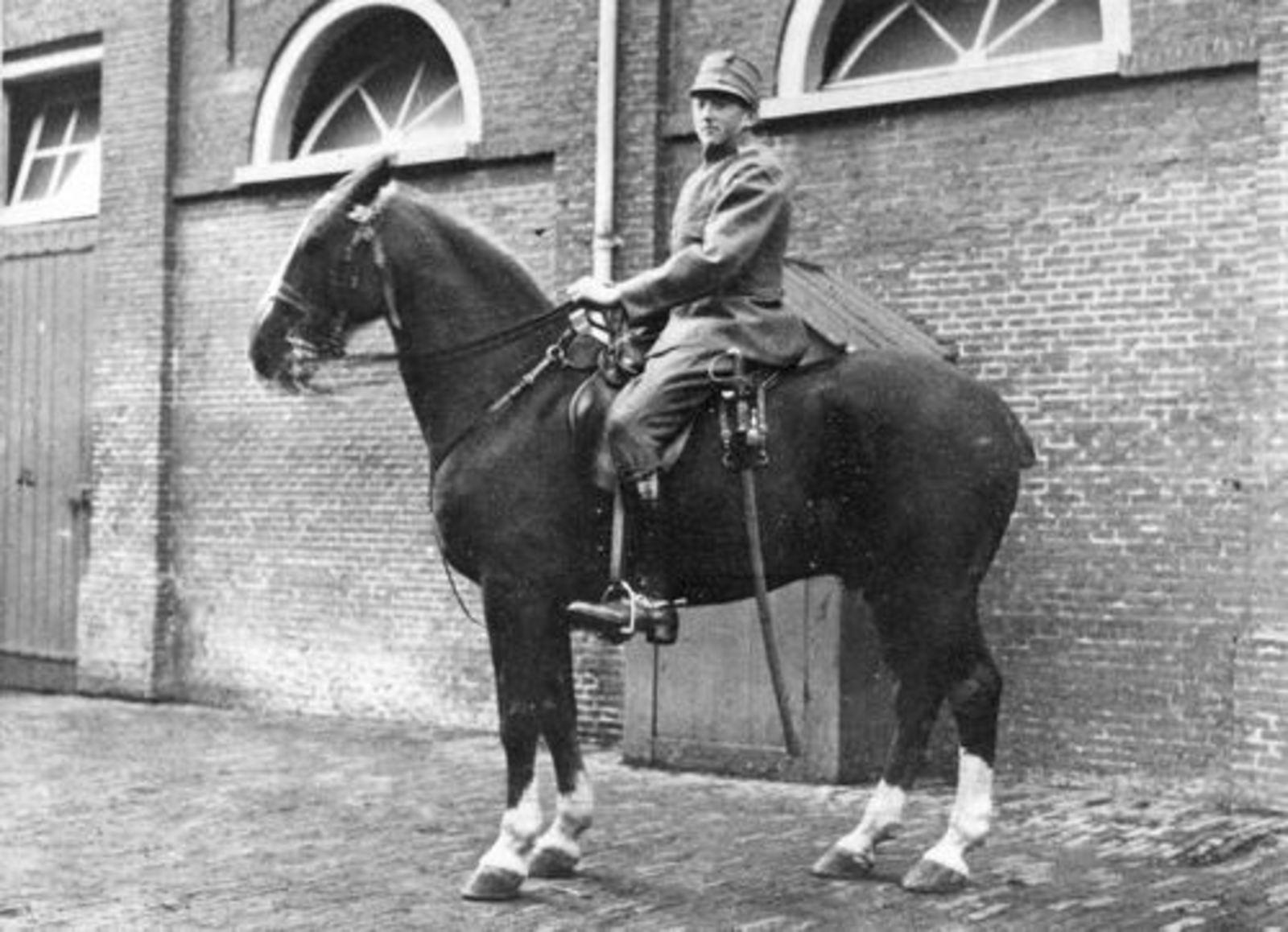 Koeckhoven Therus Janzn 1899 19__ Soldaat te Paard