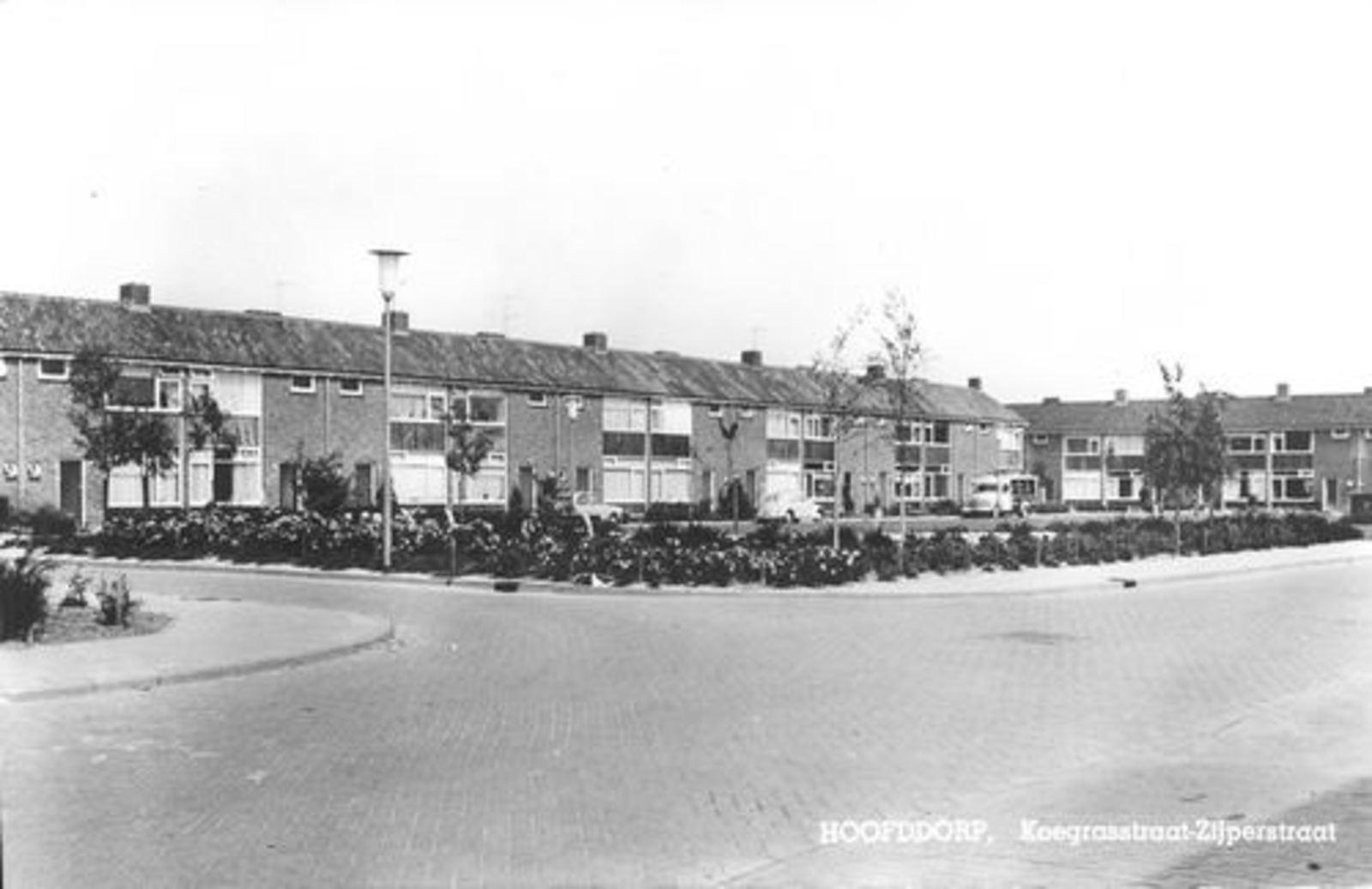 Koegrasstraat Zijpestraat 1967
