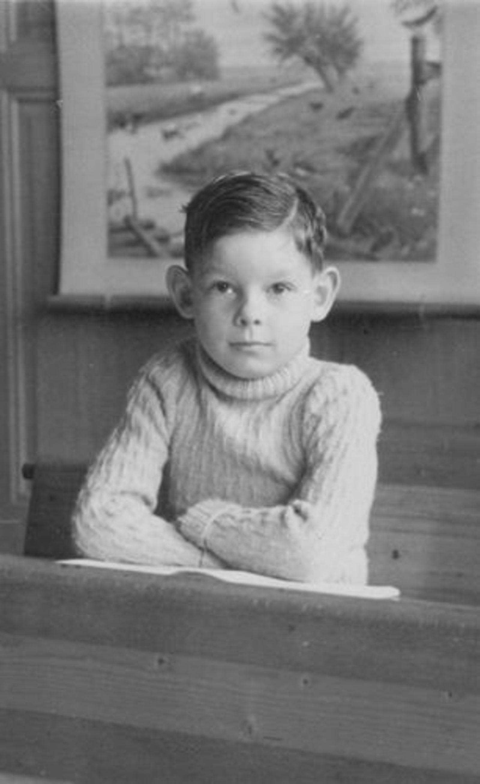 Koolbergen Aad 1941 1949± Schoolfoto