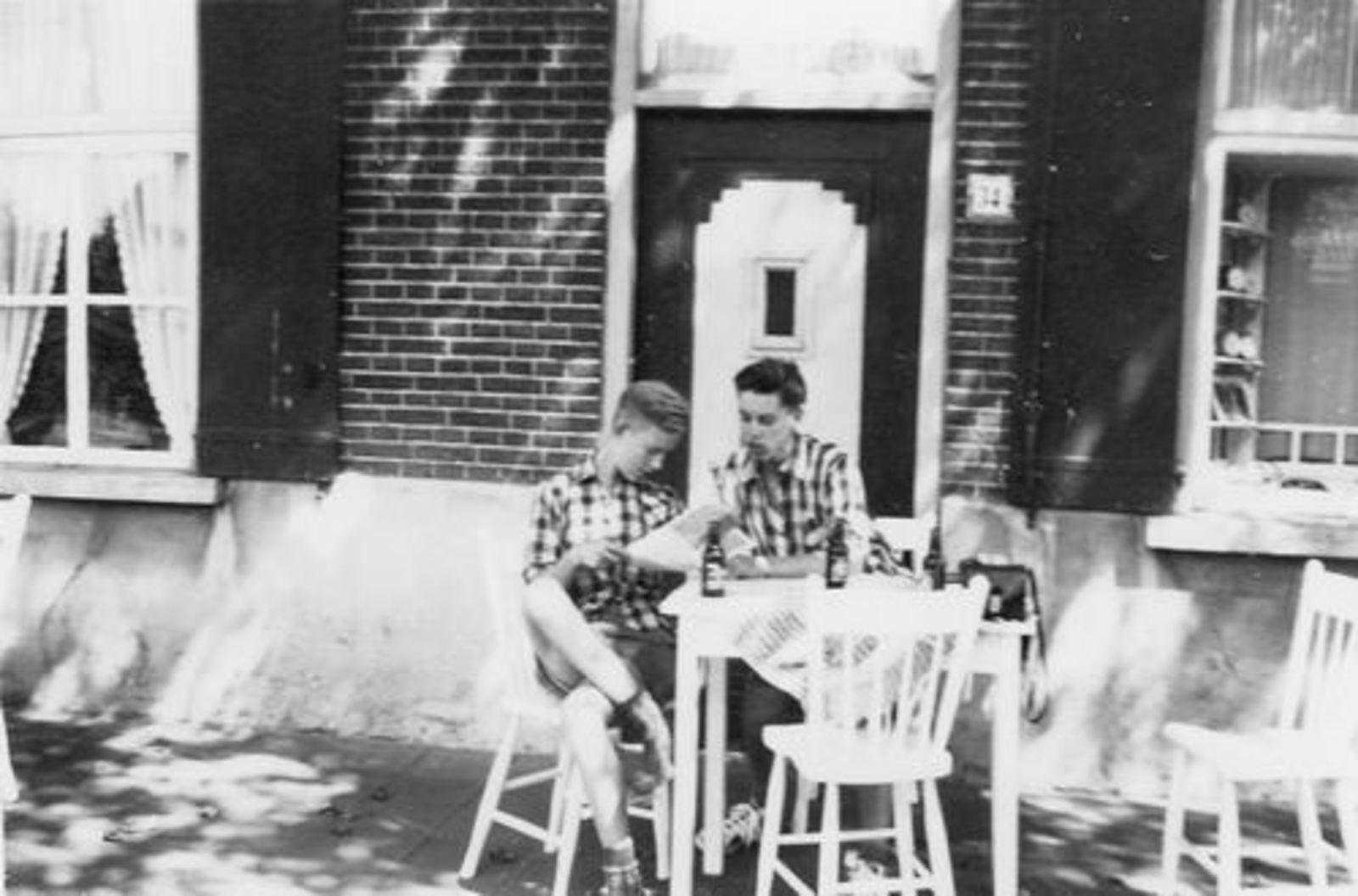 Koolbergen Aad 1941 1957± Fietsen met Vrienden 03