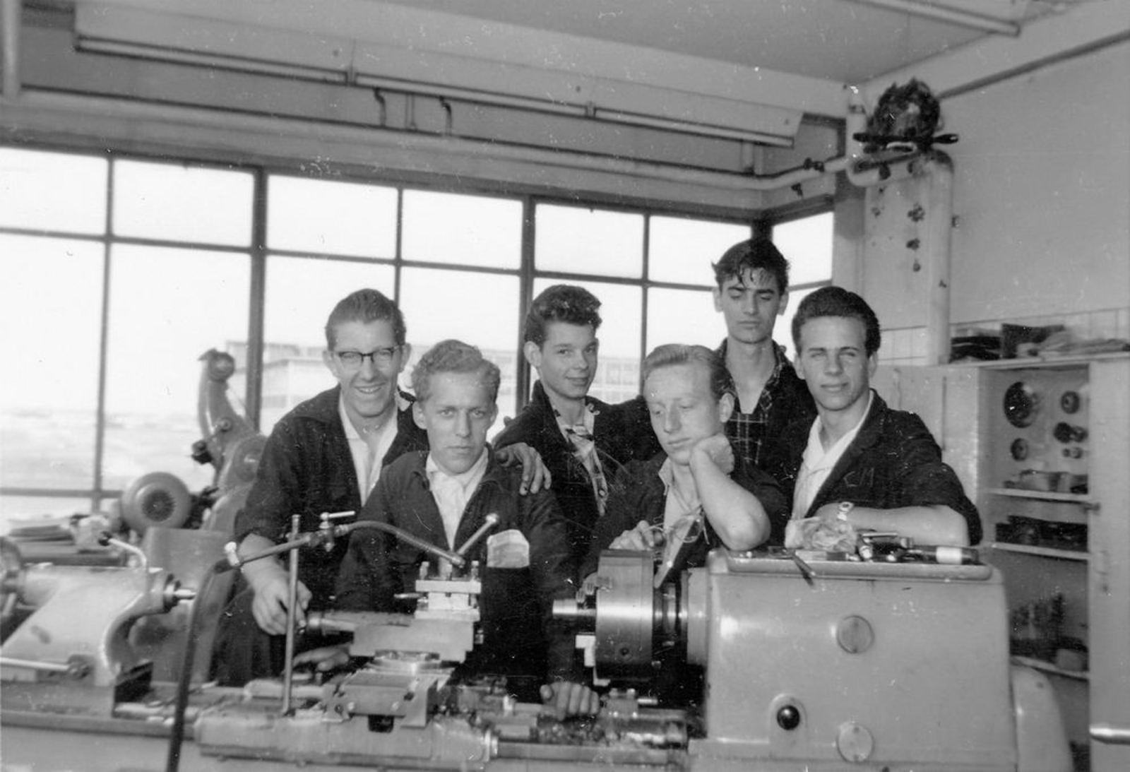 Koolbergen Aad 1941 1957± op Bedrijfsschool KLM 06