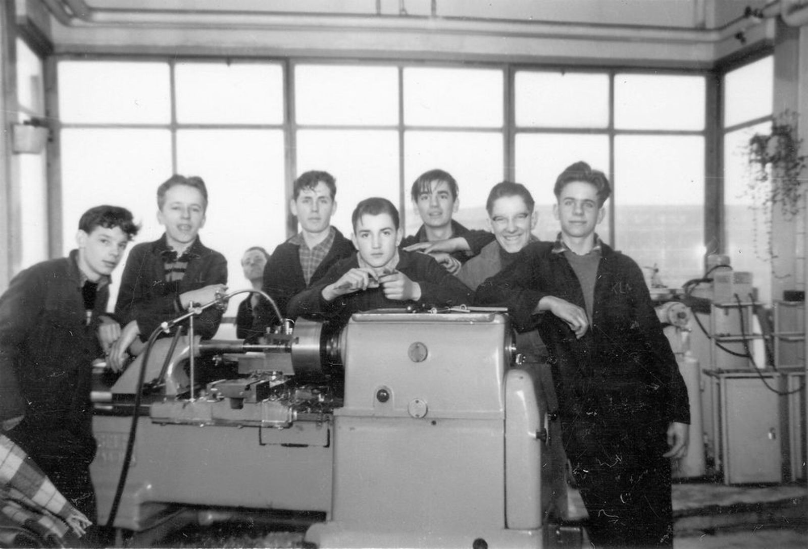 Koolbergen Aad 1941 1957± op Bedrijfsschool KLM 07