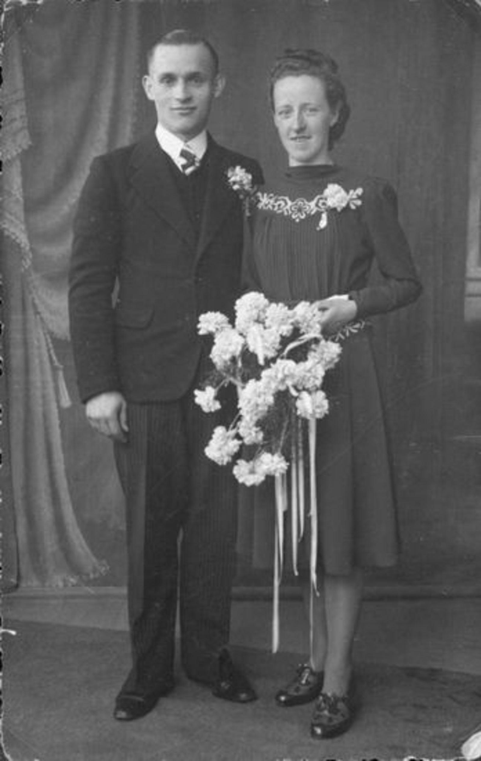 Koolbergen Cor 1919 19__ trouwt met Aagje Broere