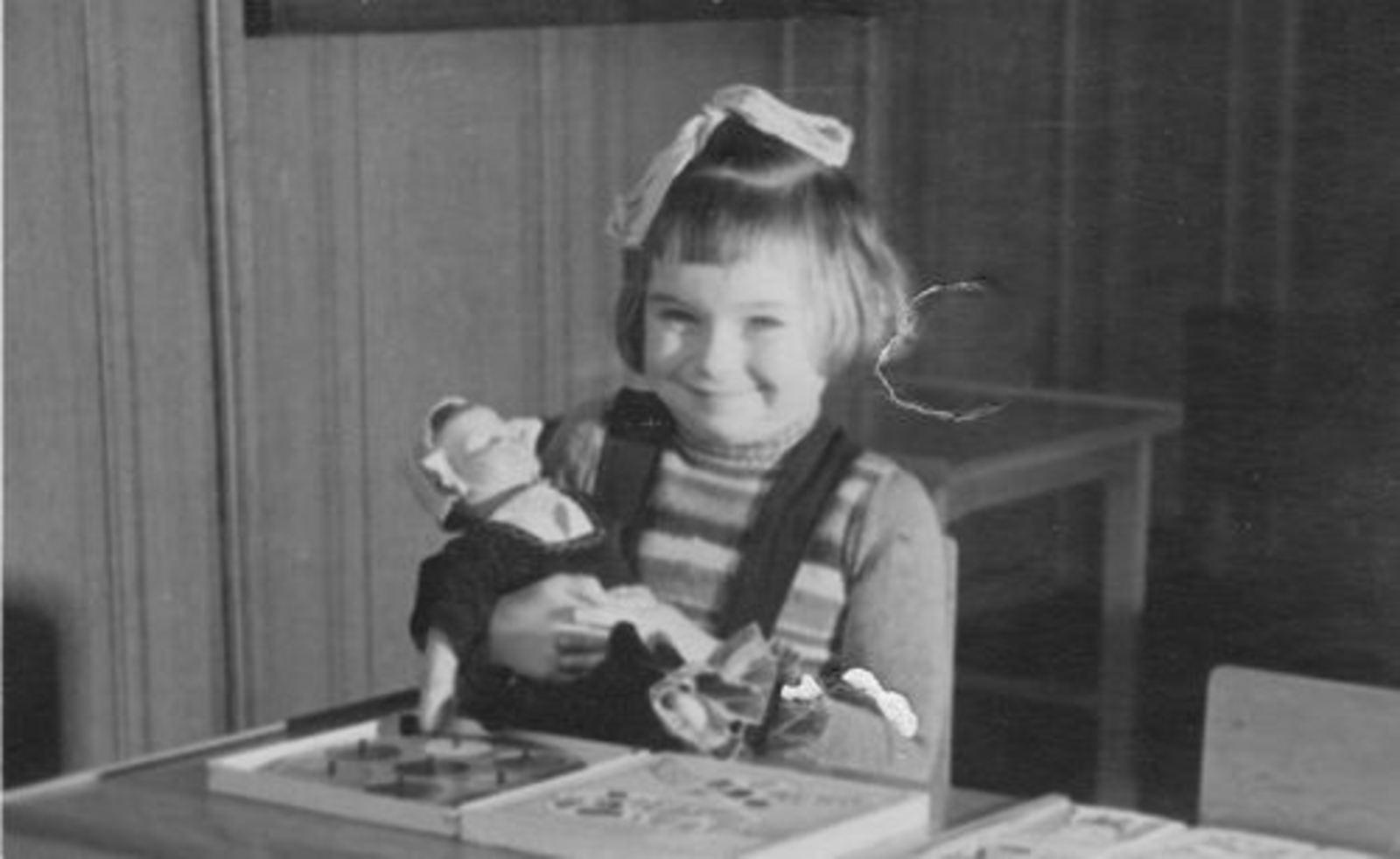 Koolbergen Ellie 1943 1948± Schoolfoto
