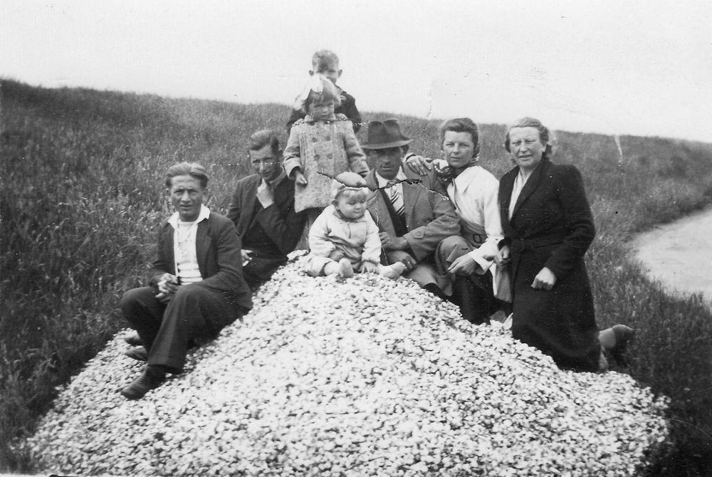 Koolbergen Fons 1914 1944 met Gezin Vakantie op Texel 02