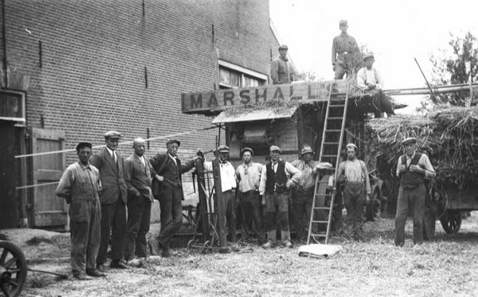 Kromme Spieringweg O 0208 1940± Marshall Dorsmachine