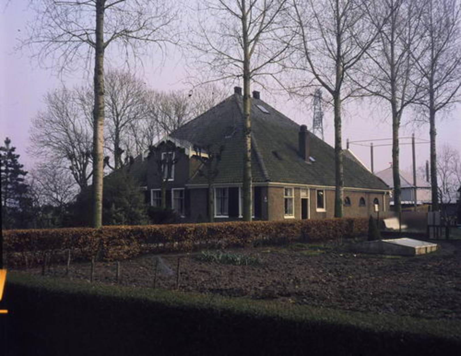 Kromme Spieringweg O 0274 1980 boerderij Vredehof 01