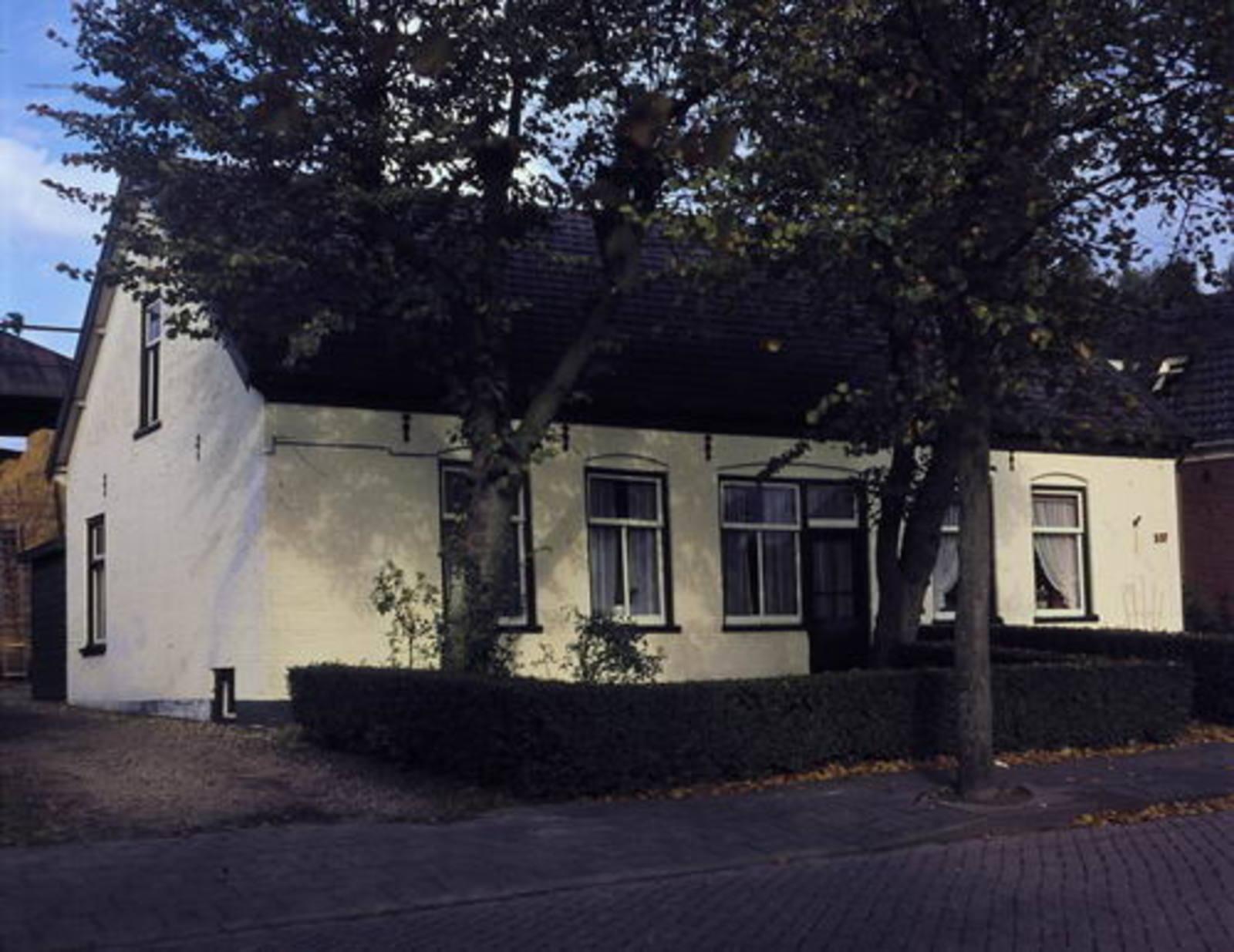 Kromme Spieringweg W 0537 1979 woonhuis boerderij Daane